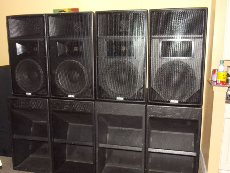 up for sale is my used but in great condition eaw speakers audio geeks. Black Bedroom Furniture Sets. Home Design Ideas
